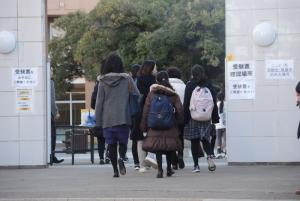 三田国際国際生入試当日